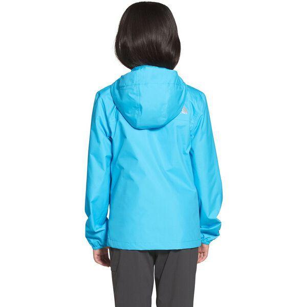 Girls' Resolve Reflective Jacket, ETHEREAL BLUE, hi-res