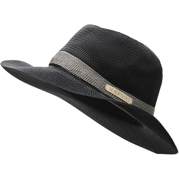 WOMEN'S PACKABLE PANAMA HAT, ASPHALT GREY, hi-res