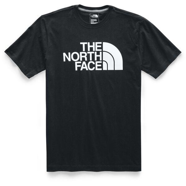 MEN'S SHORT-SLEEVE HALF DOME TEE, TNF BLACK/TNF WHITE, hi-res