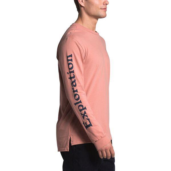 Men's Long-Sleeve Rogue Graphic Tee, PINK CLAY, hi-res
