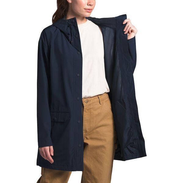 Women's Woodmont Rain Jacket, URBAN NAVY, hi-res