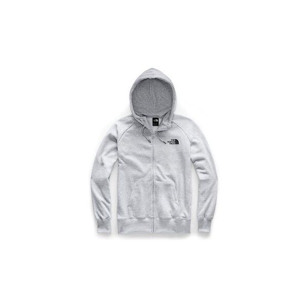 Women's Half Dome Full Zip Hoodie, TNF LIGHT GREY HEATHER/TNF BLACK, hi-res