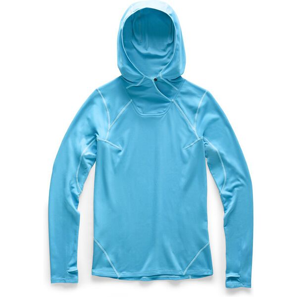 Women's North Dome Pullover Hoodie, TURQUOISE BLUE, hi-res
