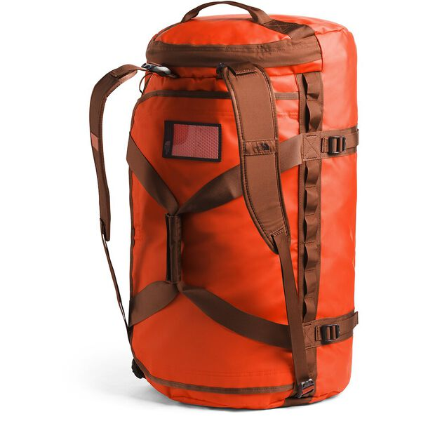 BASE CAMP DUFFEL-L, ACRYLIC ORANGE/PICANTE RED, hi-res