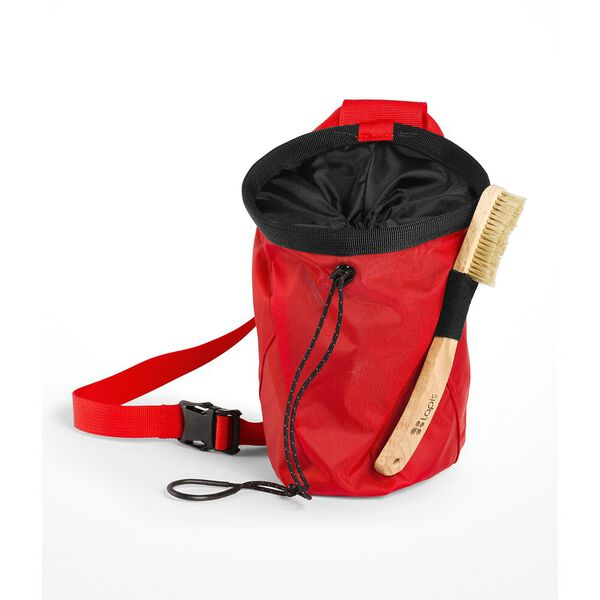CHALK BAG PRO, FIERY RED/TNF BLACK, hi-res