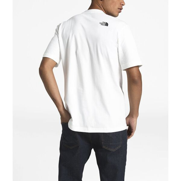 MEN'S SHORT-SLEEVE FROM THE BEGINNING HEAVYWEIGHT TEE, TNF WHITE, hi-res