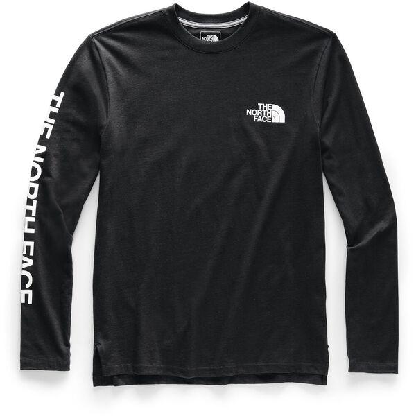 Men's Long-Sleeve Logo 7SE Tee, TNF BLACK, hi-res