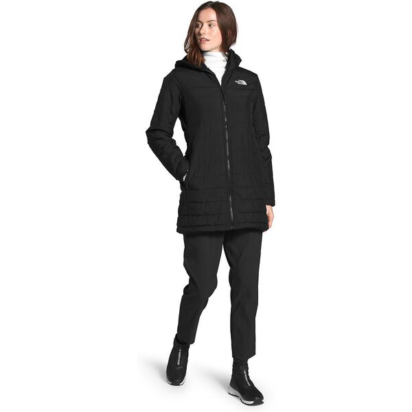 Women's Mossbud Insulated Reversible Parka, TNF BLACK, hi-res