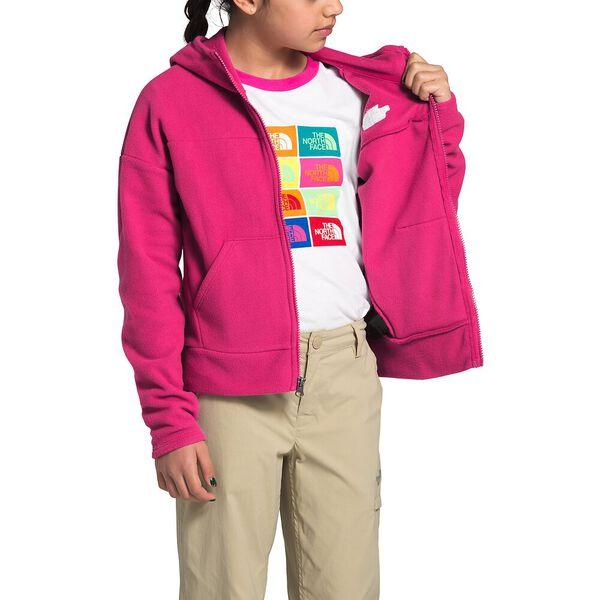 Girls' Glacier Full Zip Hoodie, MR. PINK, hi-res