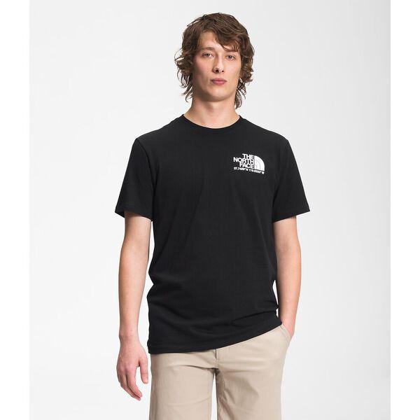 Men's Coordinates Short-Sleeve Tee, TNF BLACK, hi-res