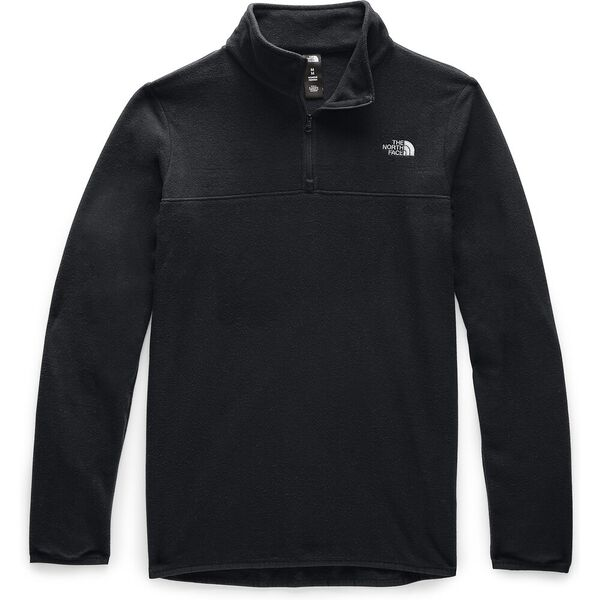 Women's TKA Glacier ¼ Zip, TNF BLACK/TNF BLACK, hi-res