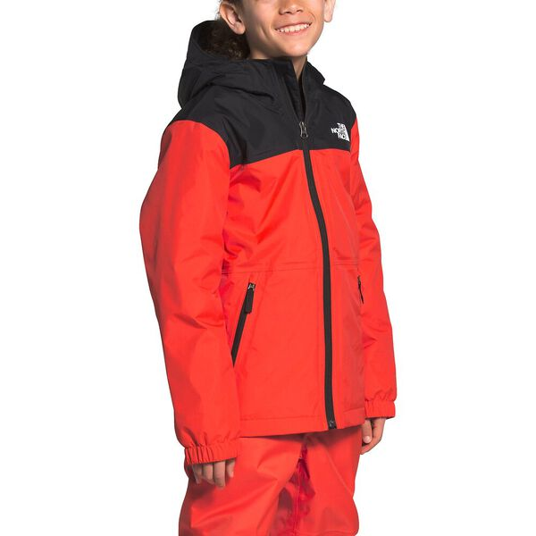 Boys' Warm Storm Rain Jacket, FLARE, hi-res