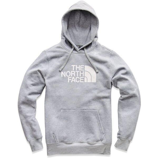 MEN'S HALF DOME PULLOVER HOODIE, TNF LIGHT GREY HEATHER/TNF WHITE, hi-res