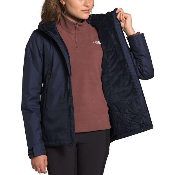 Women's Inlux Insulated Jacket, AVIATOR NAVY HEATHER, hi-res