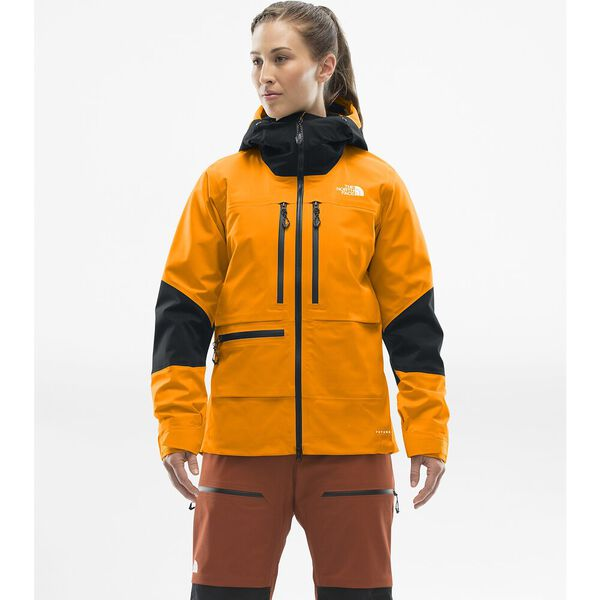 Women's Summit L5 FUTURELIGHT™ Jacket, KNOCKOUT ORANGE/TNF BLACK, hi-res