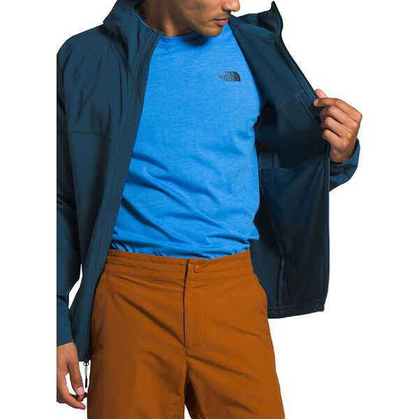 Men's Apex Nimble Hoodie, BLUE WING TEAL, hi-res