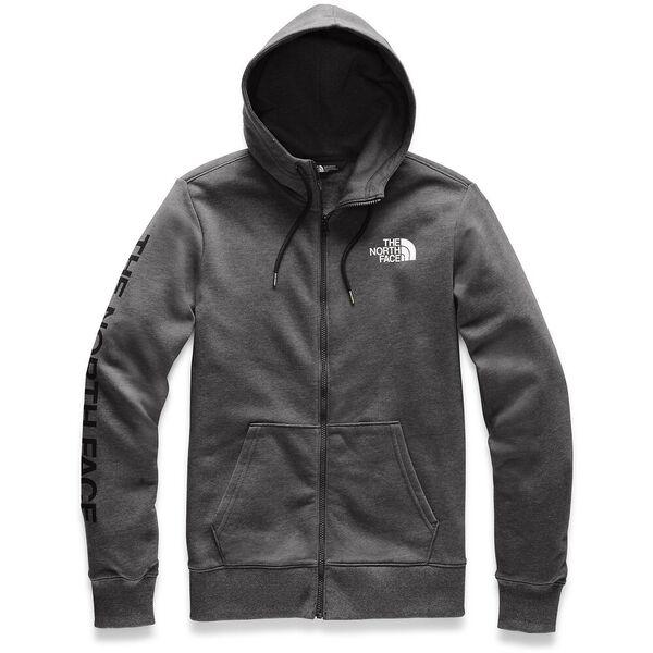 Men's Brand Proud Full Zip Hoodie, TNF DARK GREY HEATHER, hi-res