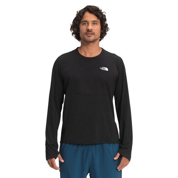 Men's True Run Long-Sleeve Shirt, TNF BLACK, hi-res