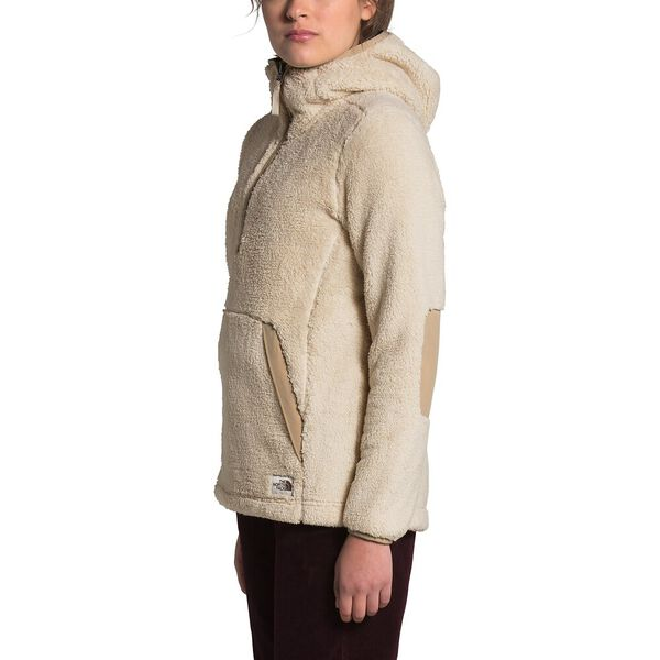Women's Campshire Pullover Hoodie 2.0, BLEACHED SAND/HAWTHORNE KHAKI, hi-res