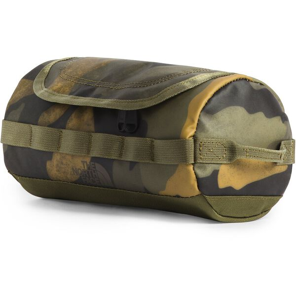 BASE CAMP TRAVEL CANISTER-S, BURNT OLIVE GREEN WAXED CAMO PRINT/BURNT OLIVE GREEN, hi-res