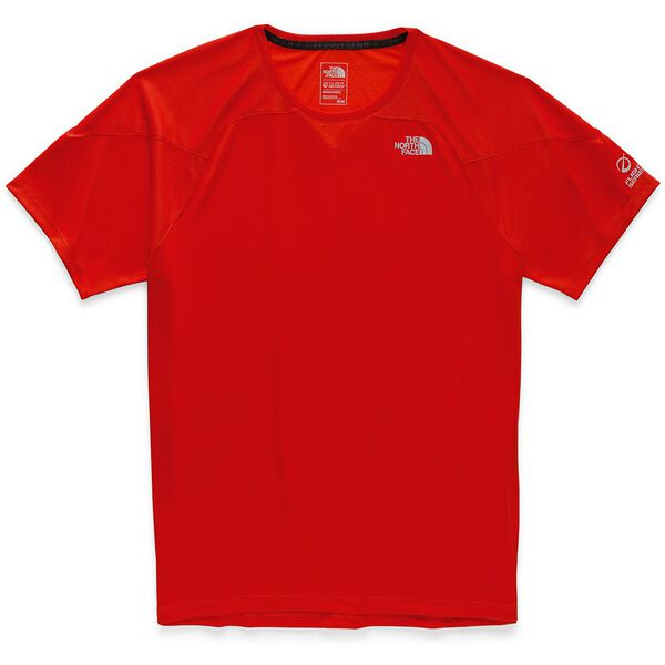 MEN'S FLIGHT BETTER THAN NAKED SHORT SLEEVE, FIERY RED, hi-res