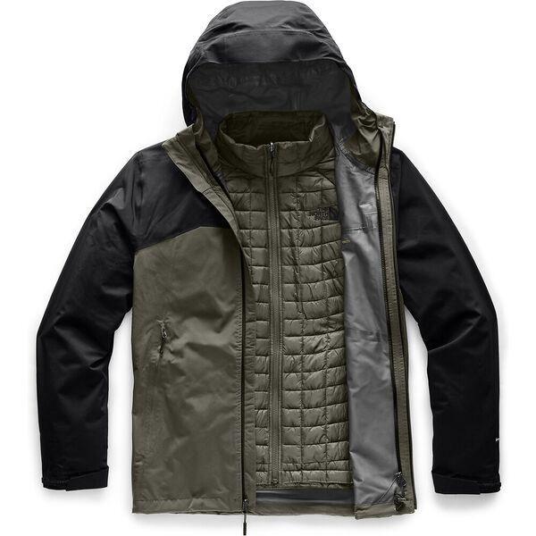Men's Thermoball™ Triclimate® Jacket, NEW TAUPE GREEN/TNF BLACK, hi-res