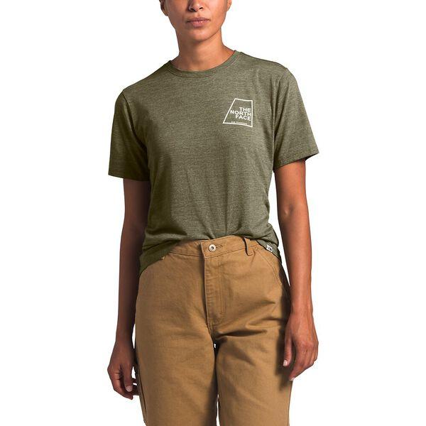 Women's Short-Sleeve Logo Marks Tri-Blend Tee