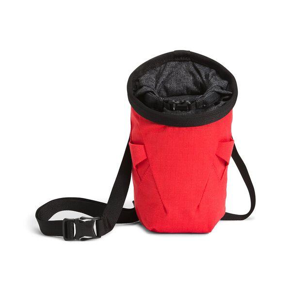 North Dome Chalk Bag, HORIZON RED-TNF BLACK WHITE HEATHER, hi-res