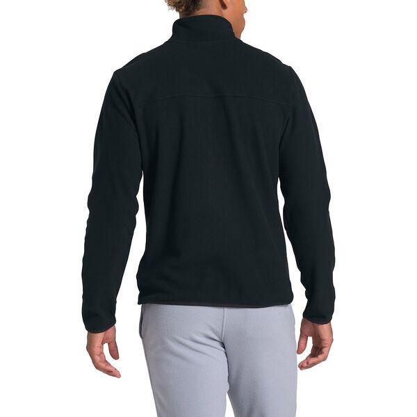 Men's TKA Glacier Fleece Full Zip Jacket, TNF BLACK/TNF BLACK, hi-res