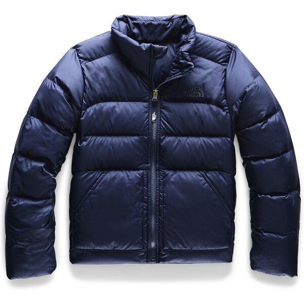 Girls' Andes Down Jacket, MONTAGUE BLUE, hi-res