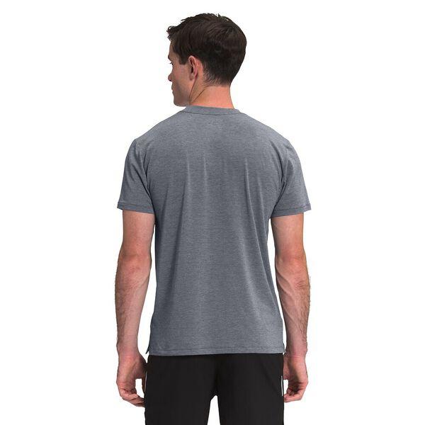 Men's Wander Short-Sleeve, VANADIS GREY DARK HEATHER, hi-res