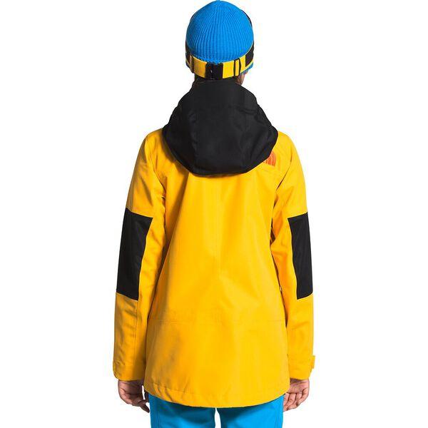 Women's Team Kit Jacket, SUMMIT GOLD/BOMBER BLUE/TNF BLACK, hi-res