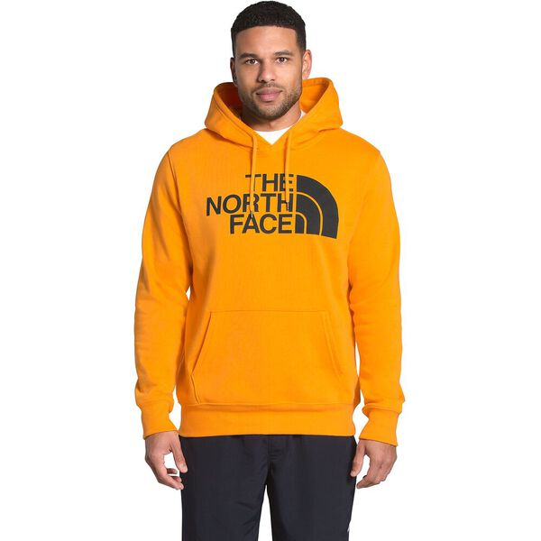 Men's Half Dome Pullover Hoodie, SUMMIT GOLD/TNF BLACK, hi-res