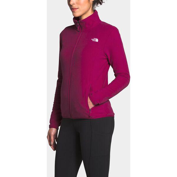 Women's TKA Glacier Full Zip Jacket, DRAMATIC PLUM/DRAMATIC PLUM, hi-res