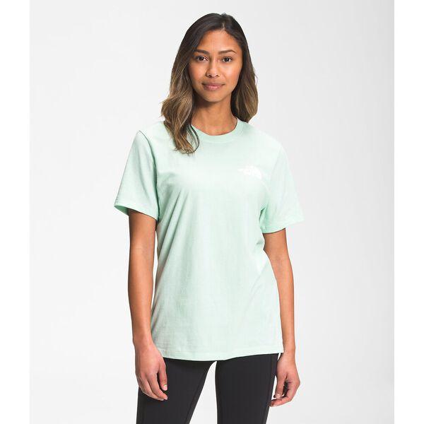 Women's Short-Sleeve Box NSE Tee, MISTY JADE, hi-res