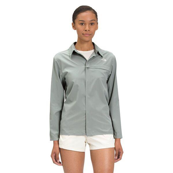Women's First Trail UPF Long-Sleeve Shirt, WROUGHT IRON, hi-res