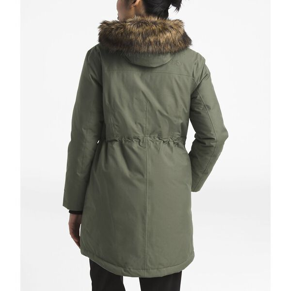 WOMEN'S DOWNTOWN ARCTIC PARKA, NEW TAUPE GREEN, hi-res