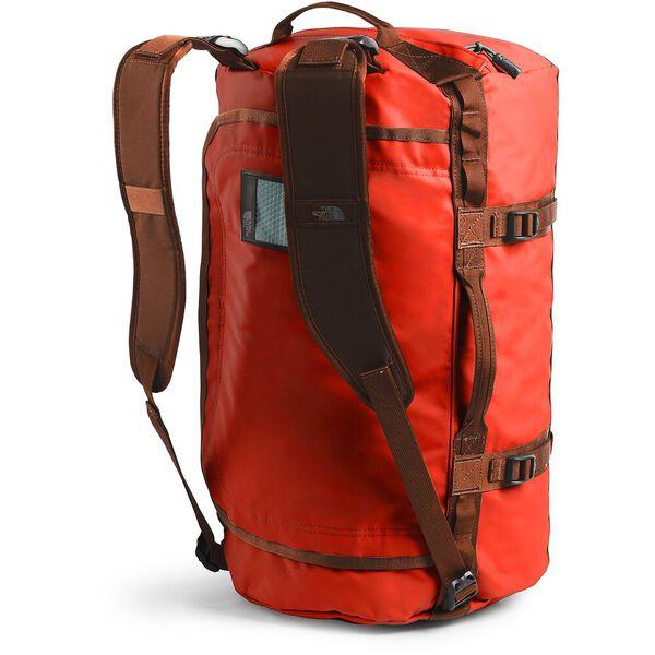 BASE CAMP DUFFEL-S, ACRYLIC ORANGE/PICANTE RED, hi-res