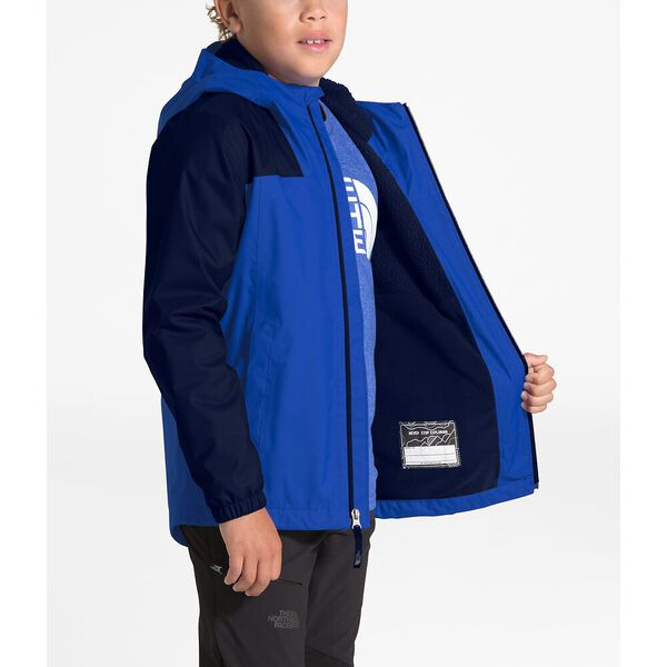 Boys' Warm Storm Jacket, TNF BLUE, hi-res