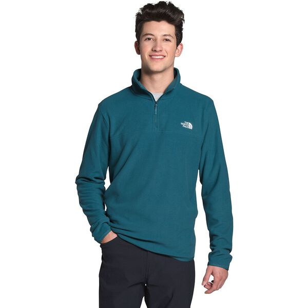 Men's TKA Glacier ¼ Zip, MALLARD BLUE, hi-res
