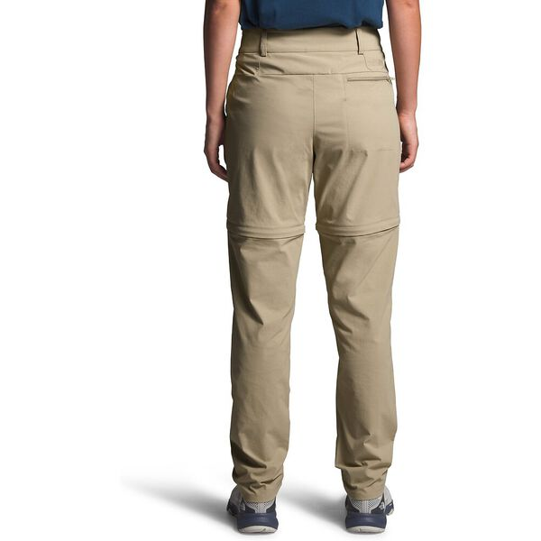 Women's Paramount Active Convertible Mid-Rise Pants, TWILL BEIGE, hi-res