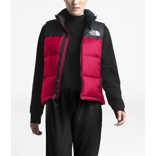 WOMEN'S 1996 RETRO NUPTSE DOWN VEST, TNF RED, hi-res