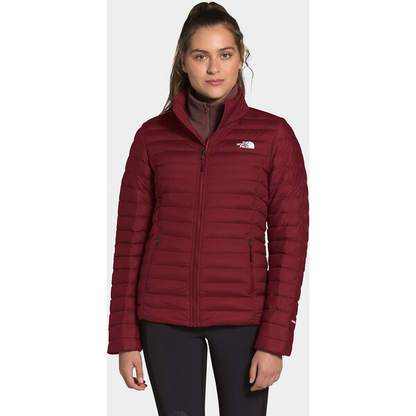 Women's Stretch Down Jacket, POMEGRANATE, hi-res