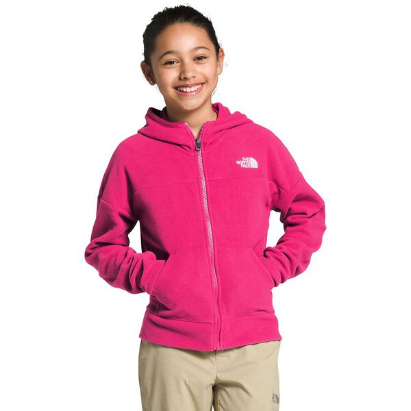 Girls' Glacier Full Zip Hoodie, MR. PINK, hi-res