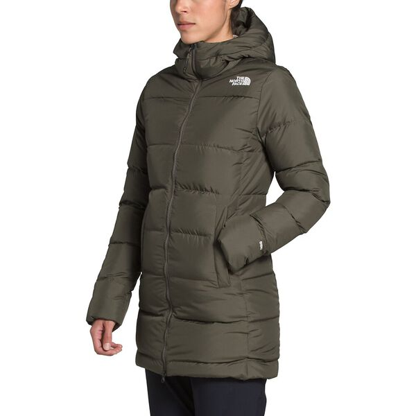 Women's Gotham Parka, NEW TAUPE GREEN, hi-res