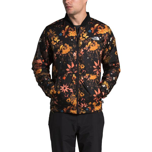 Men's Jester Jacket, FIR GREEN/TNF BLACK FLOWER CHILD MULTI PRINT, hi-res