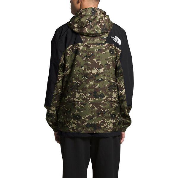 Men's Peril Wind Jacket, BURNT OLIVE GREEN UX DIGI CAMO PRINT, hi-res