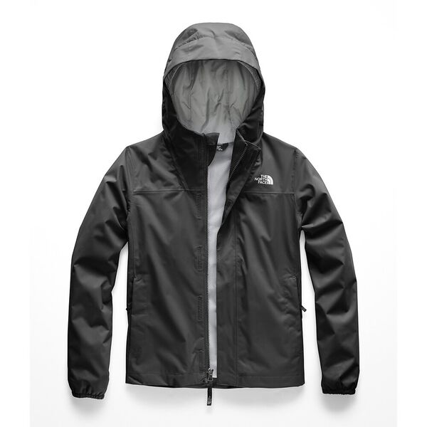 Girls' Resolve Reflective Jacket, TNF BLACK, hi-res