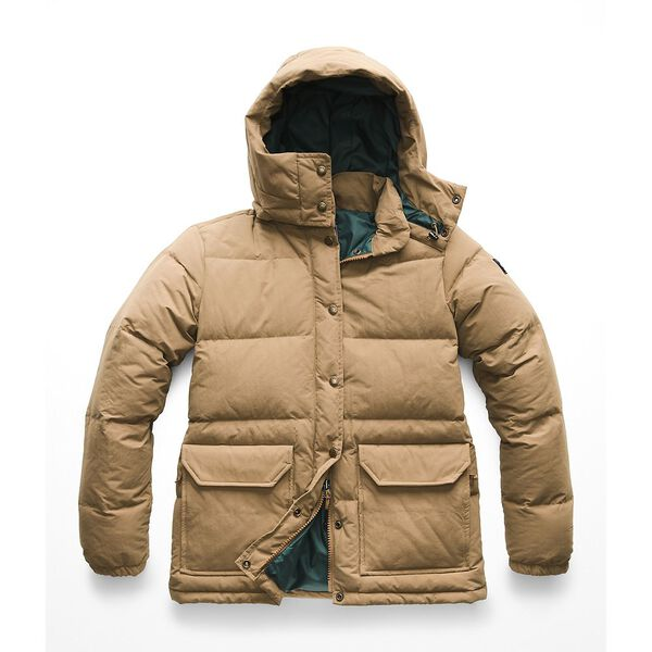 WOMEN'S DOWN SIERRA 2.0 JACKET, CARGO KHAKI, hi-res