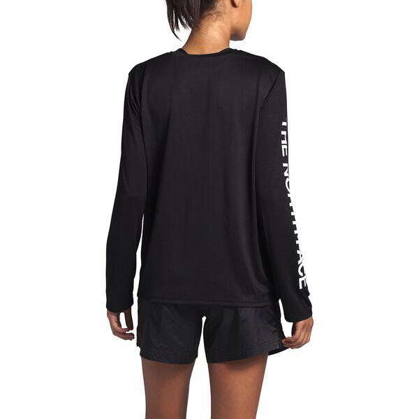 Women's Long-Sleeve Reaxion Tee, TNF BLACK, hi-res
